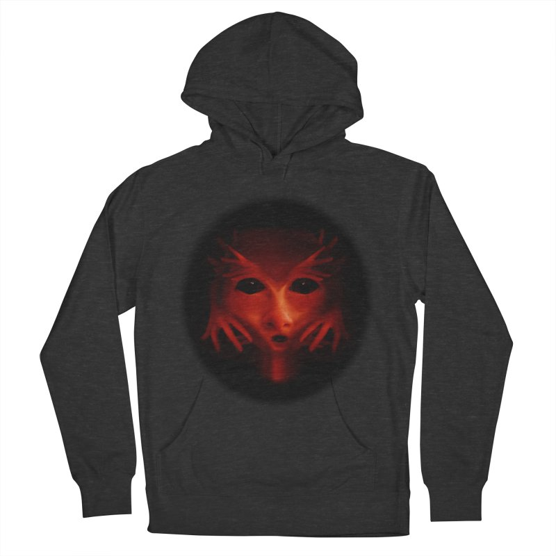 Alien Devil  Men's Pullover Hoody by Allison Low Art