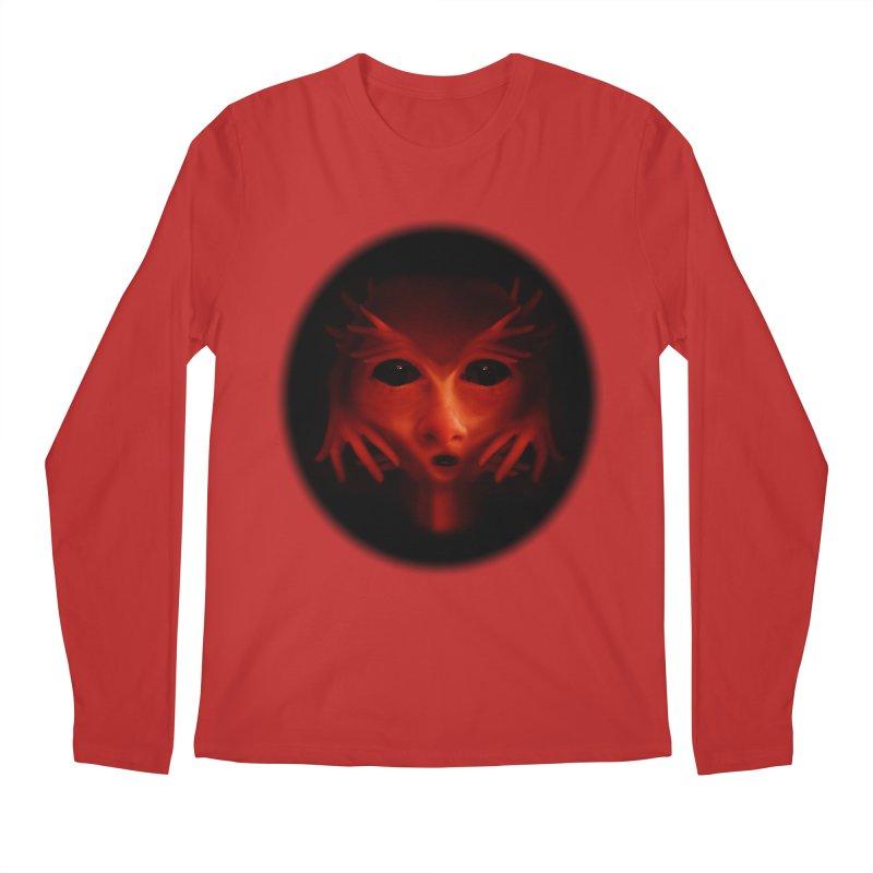 Alien Devil  Men's Longsleeve T-Shirt by Allison Low Art