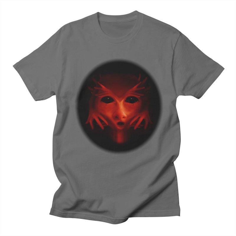 Alien Devil  Men's T-shirt by Allison Low Art