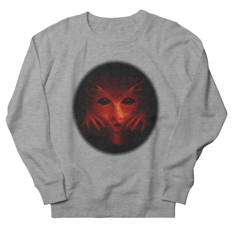 Alien Devil Women's French Terry Sweatshirt by Allison Low Art