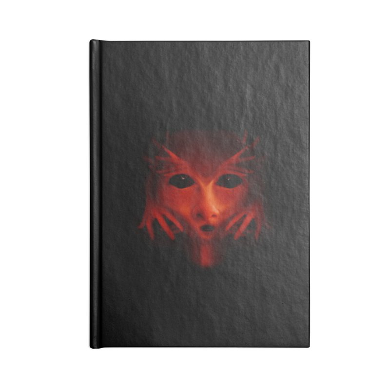 Alien Devil Accessories Notebook by Allison Low Art