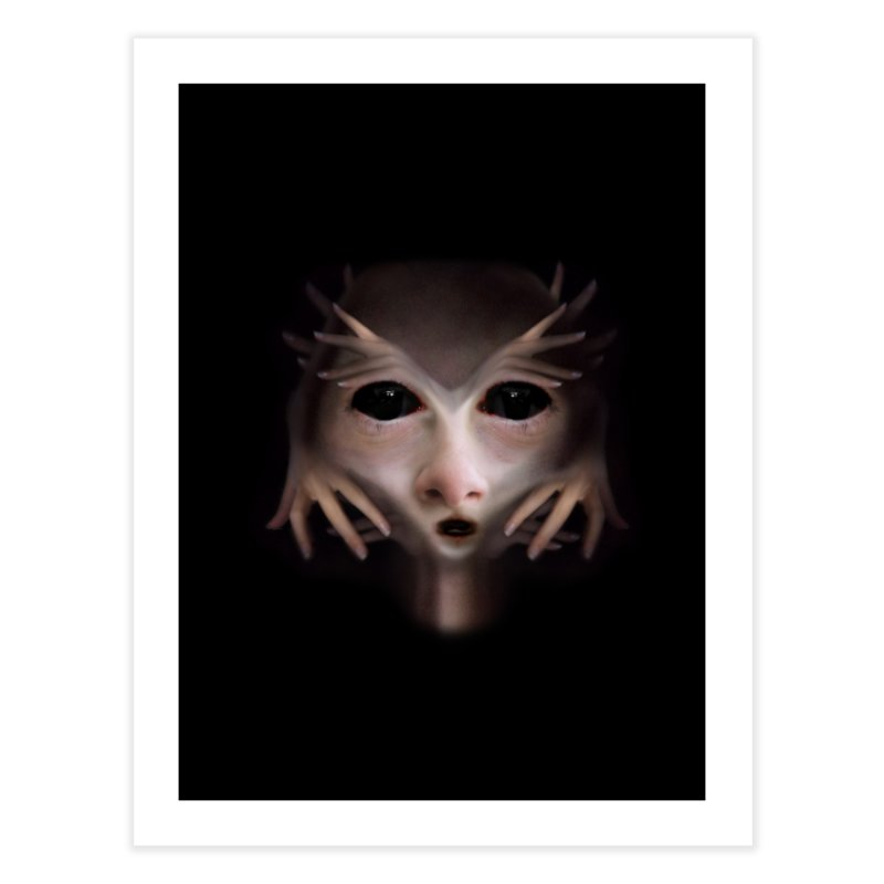 Alien Flesh Home Fine Art Print by Allison Low Art