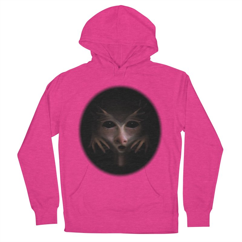 Alien Flesh Women's French Terry Pullover Hoody by Allison Low Art