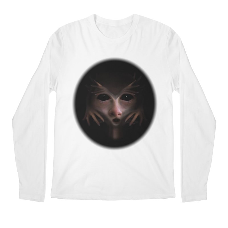 Alien Flesh Men's Regular Longsleeve T-Shirt by Allison Low Art