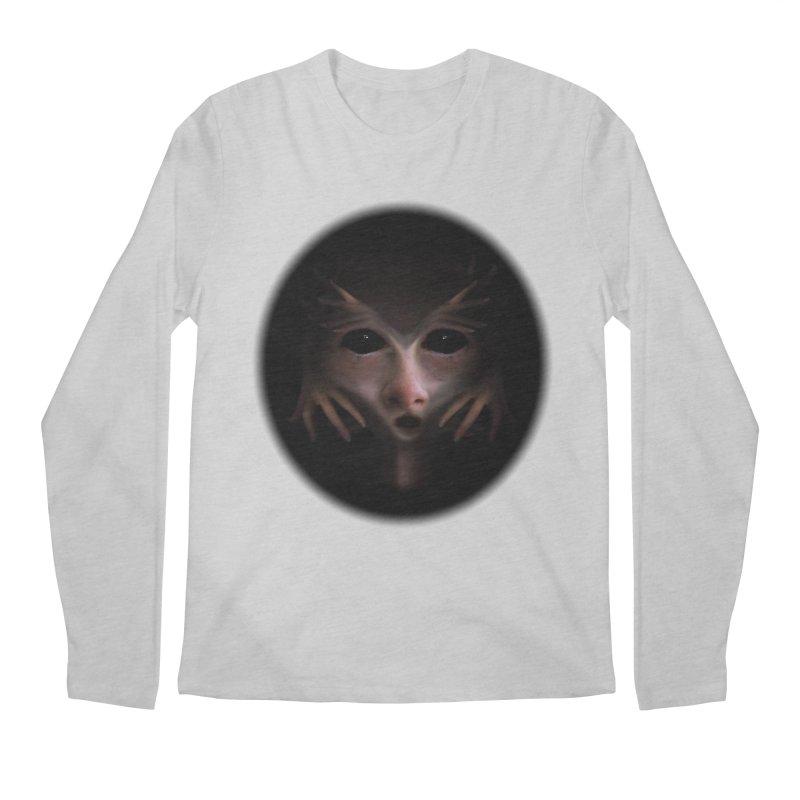 Alien Flesh Men's Longsleeve T-Shirt by Allison Low Art
