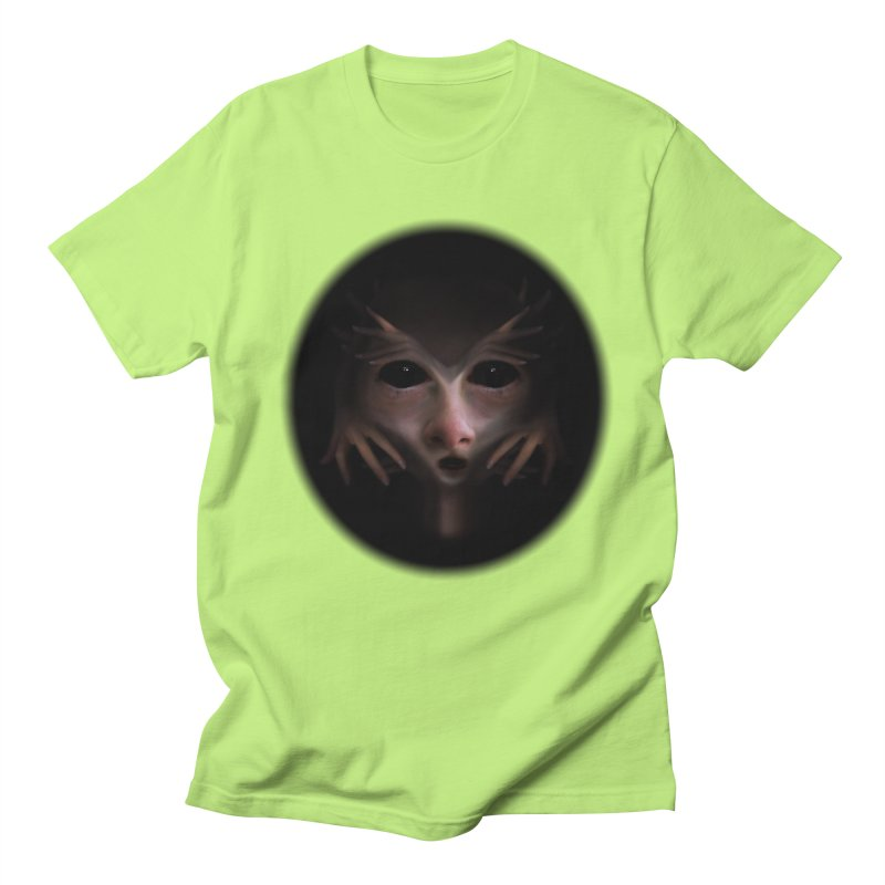 Alien Flesh Men's Regular T-Shirt by Allison Low Art