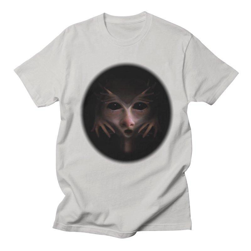 Alien Flesh Men's T-shirt by Allison Low Art