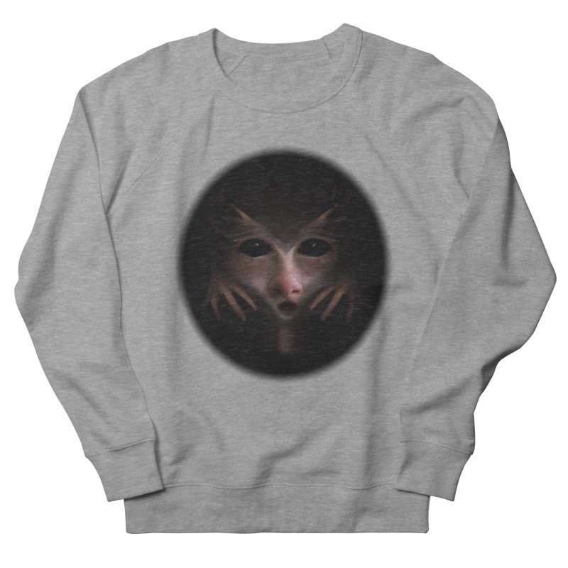 Alien Flesh Men's French Terry Sweatshirt by Allison Low Art