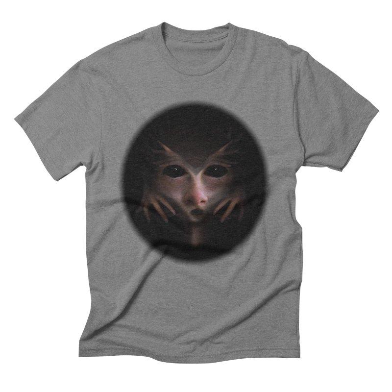 Alien Flesh Men's Triblend T-Shirt by Allison Low Art