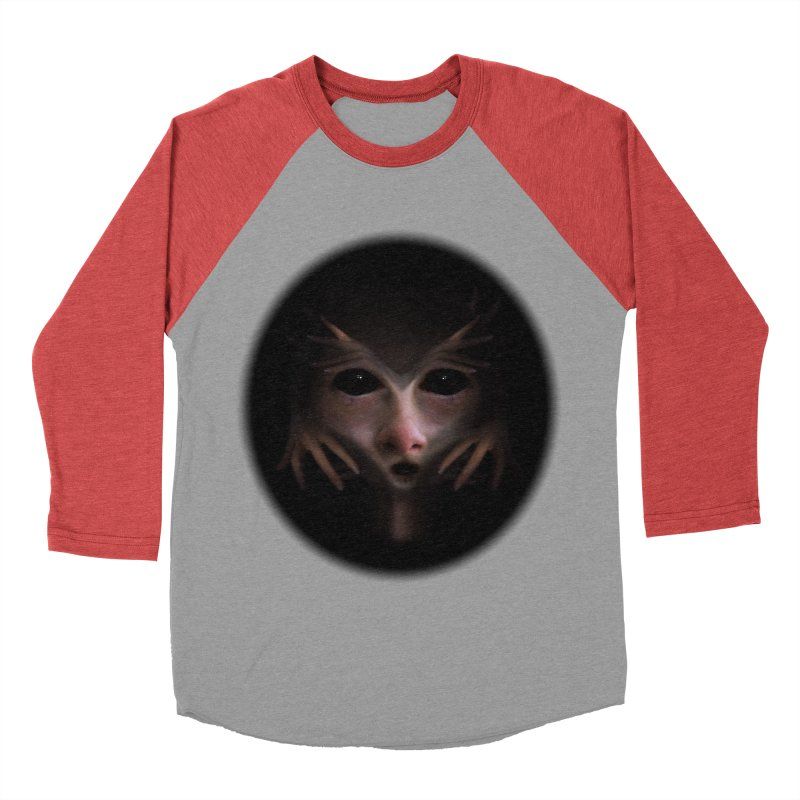 Alien Flesh Women's Baseball Triblend T-Shirt by Allison Low Art