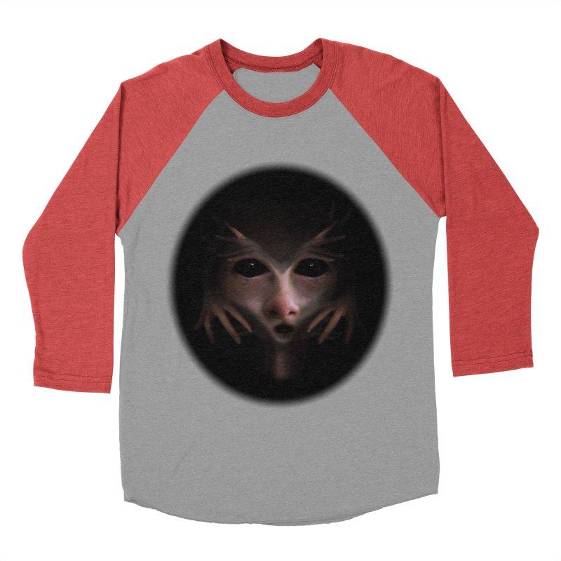 Alien Flesh Men's Baseball Triblend Longsleeve T-Shirt by Allison Low Art