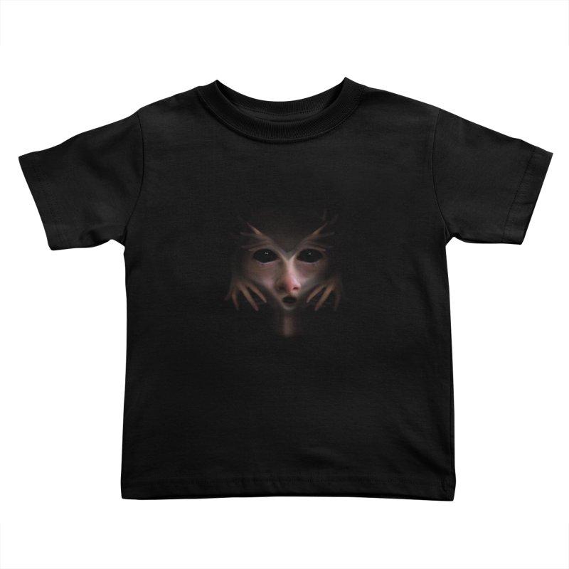 Alien Flesh Kids Toddler T-Shirt by Allison Low Art