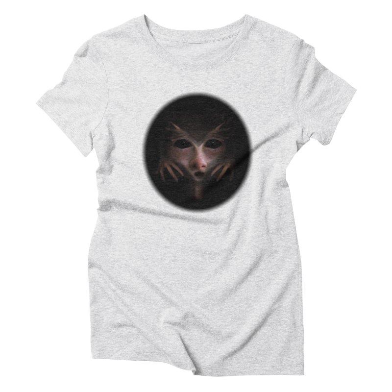 Alien Flesh Women's Triblend T-shirt by Allison Low Art