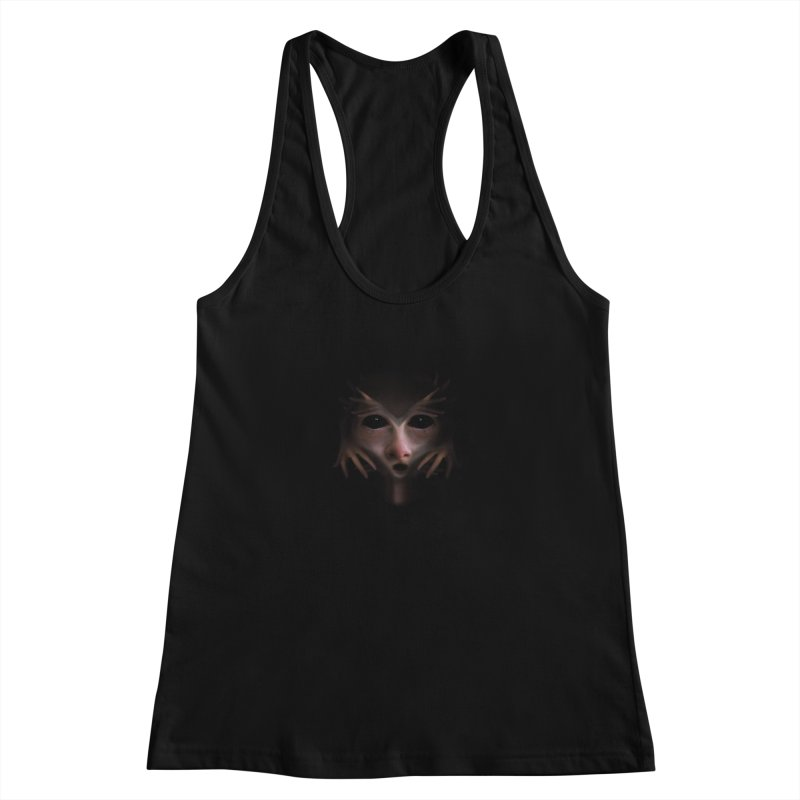 Alien Flesh Women's Racerback Tank by Allison Low Art