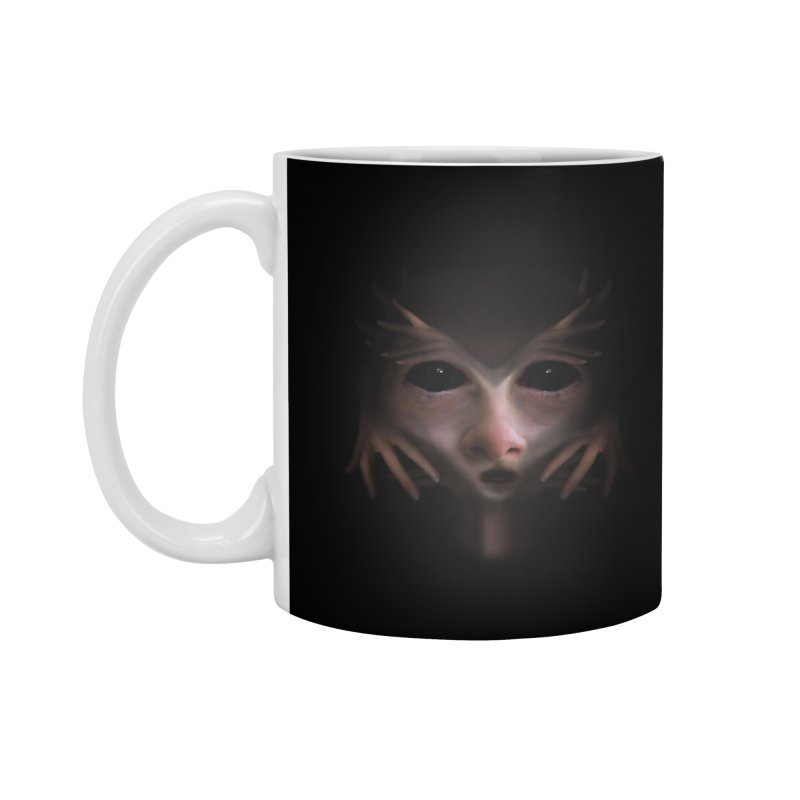Alien Flesh Accessories Mug by Allison Low Art