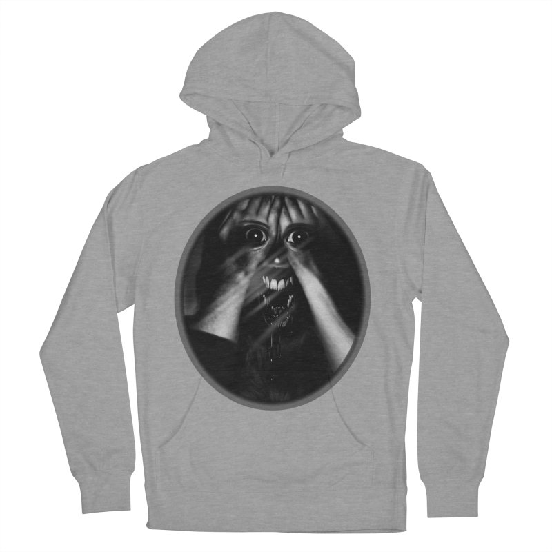 Horror Hands Men's Pullover Hoody by Allison Low Art