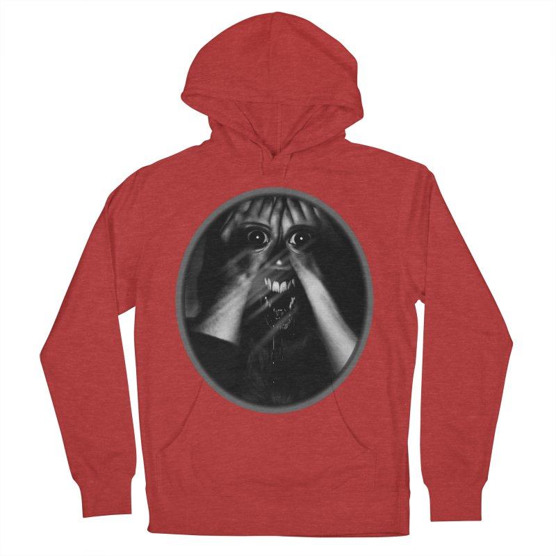 Horror Hands Men's Pullover Hoody by Allison Low Art