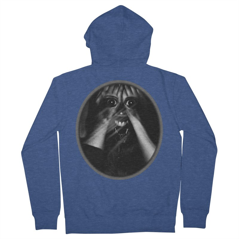 Horror Hands Women's French Terry Zip-Up Hoody by Allison Low Art