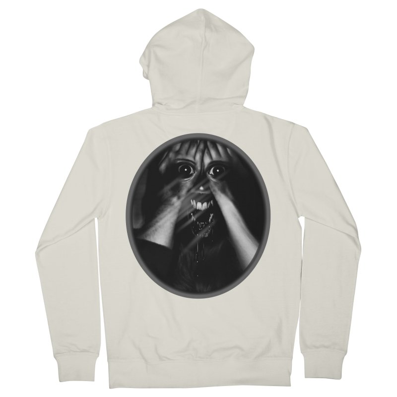 Horror Hands Men's Zip-Up Hoody by Allison Low Art