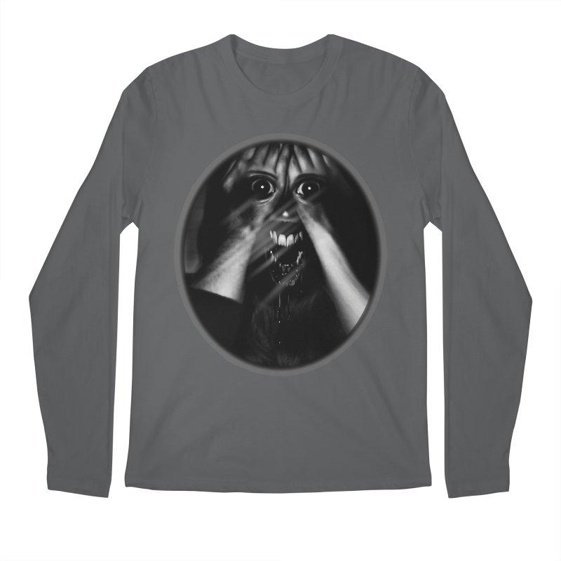 Horror Hands Men's Regular Longsleeve T-Shirt by Allison Low Art