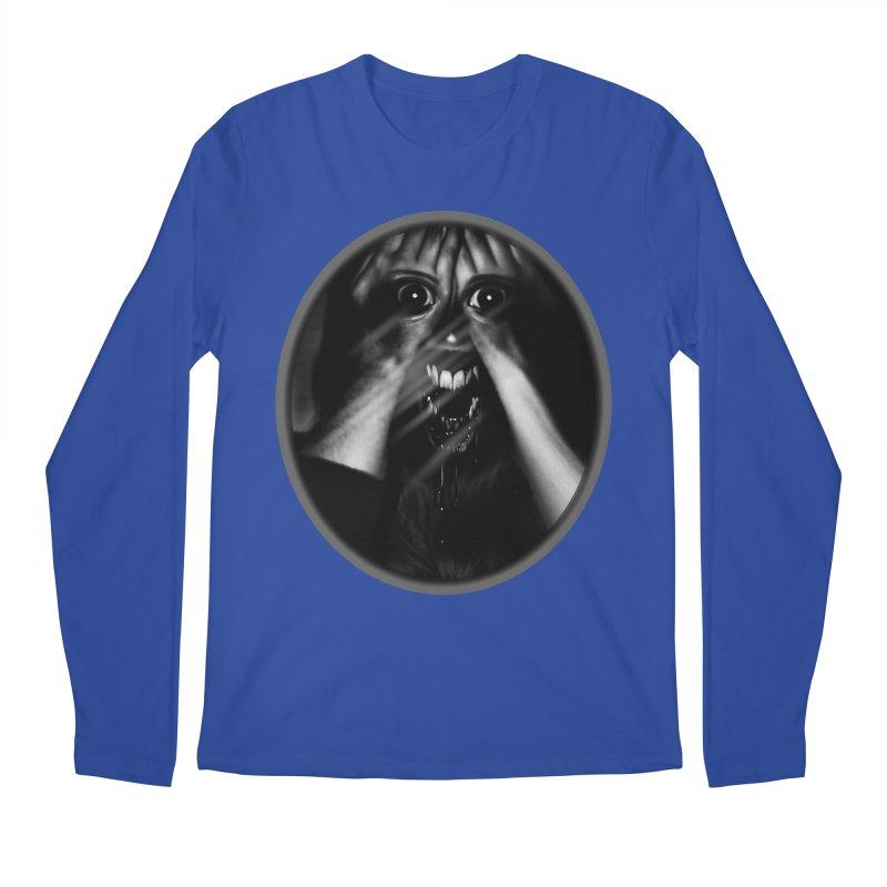 Horror Hands Men's Longsleeve T-Shirt by Allison Low Art