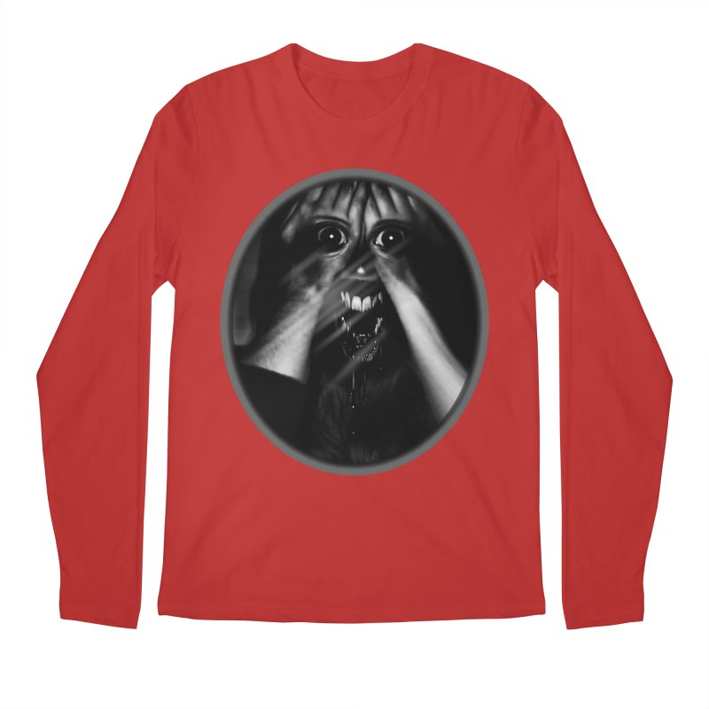Horror Hands Men's Regular Longsleeve T-Shirt by Allison Low Art