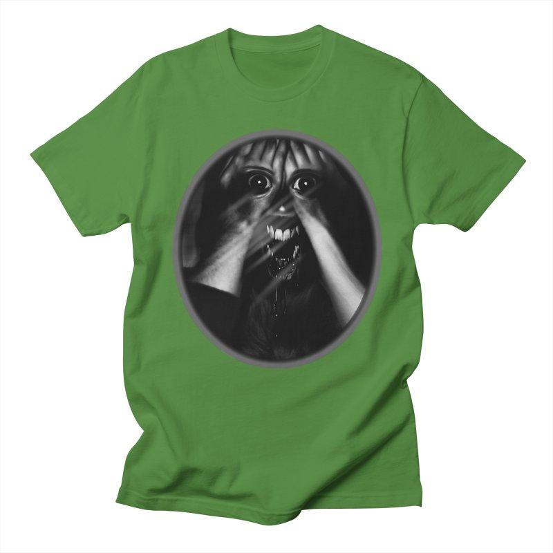Horror Hands Men's T-Shirt by Allison Low Art