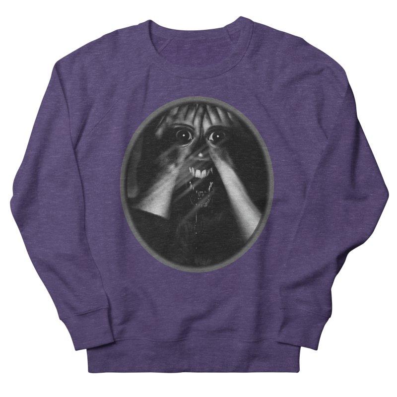 Horror Hands Women's French Terry Sweatshirt by Allison Low Art