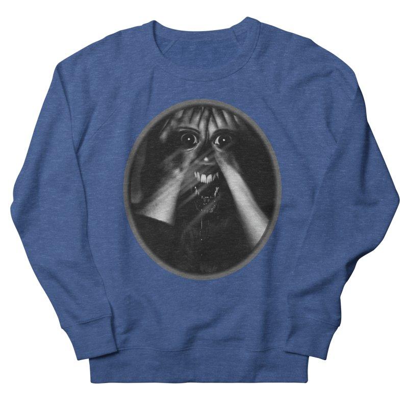 Horror Hands Men's Sweatshirt by Allison Low Art