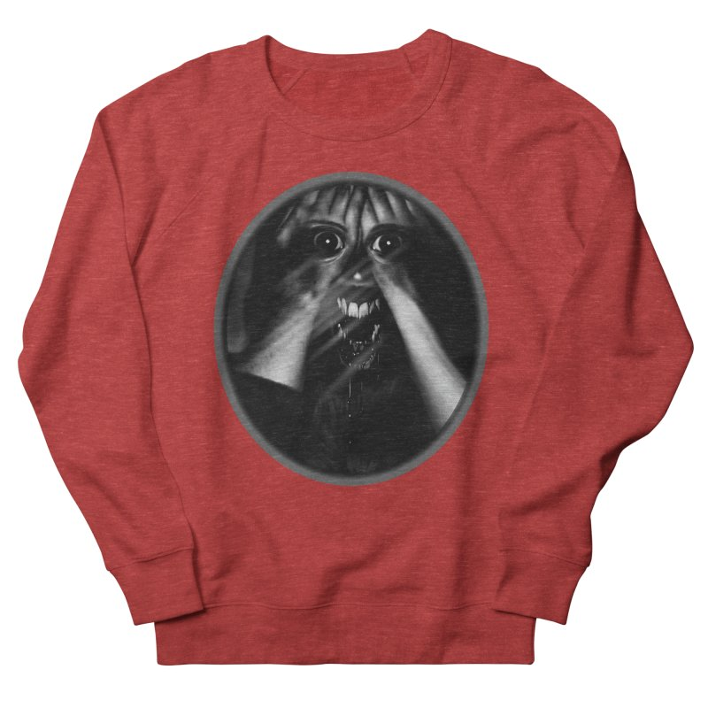 Horror Hands Men's French Terry Sweatshirt by Allison Low Art