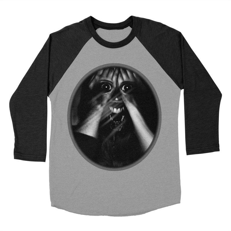 Horror Hands Women's Baseball Triblend Longsleeve T-Shirt by Allison Low Art