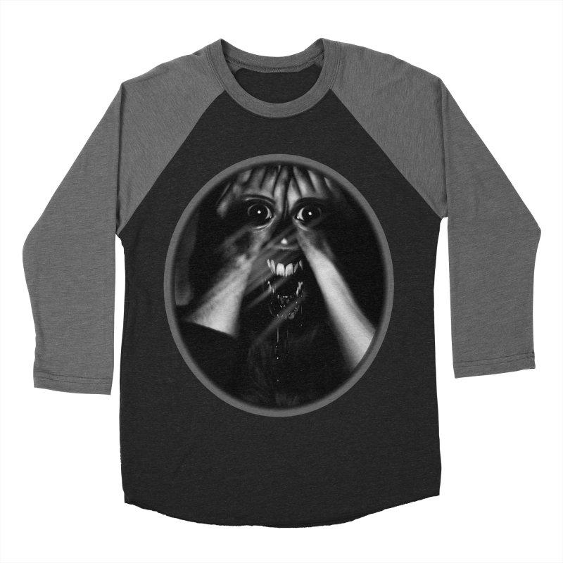 Horror Hands Men's Baseball Triblend Longsleeve T-Shirt by Allison Low Art