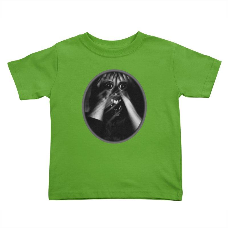 Horror Hands Kids Toddler T-Shirt by Allison Low Art