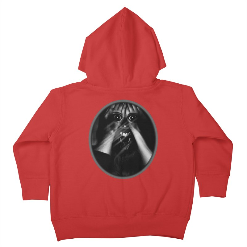 Horror Hands Kids Toddler Zip-Up Hoody by Allison Low Art