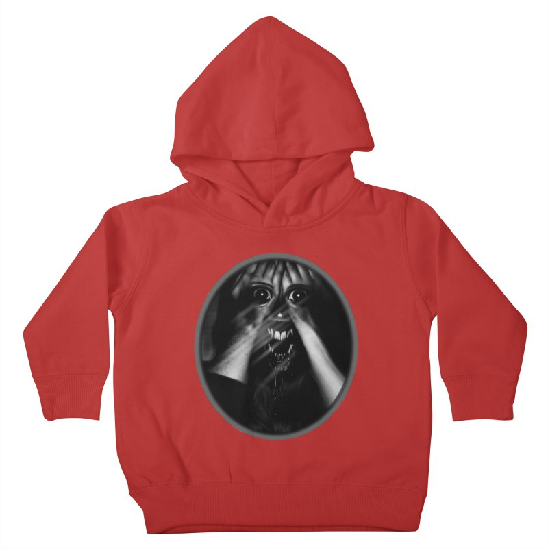 Horror Hands Kids Toddler Pullover Hoody by Allison Low Art