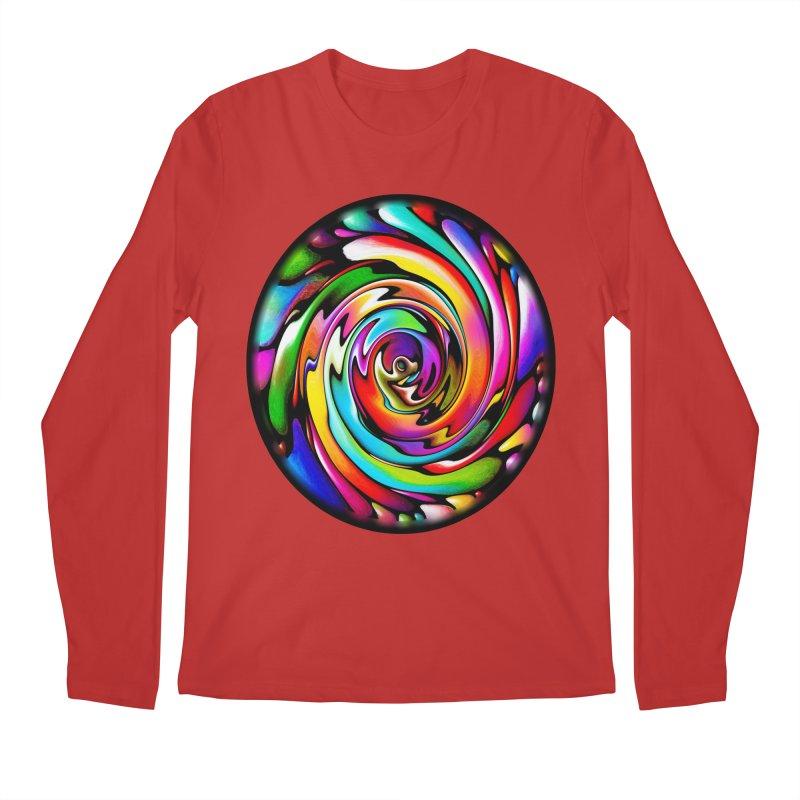 Rainbow Portal Men's Longsleeve T-Shirt by Allison Low Art