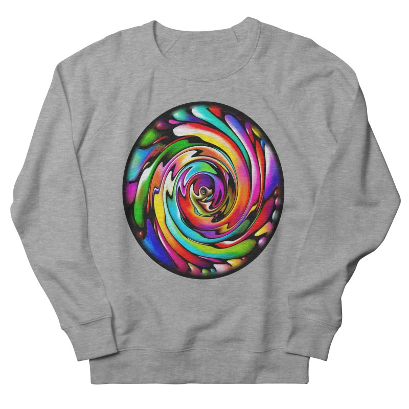 Rainbow Portal Women's French Terry Sweatshirt by Allison Low Art