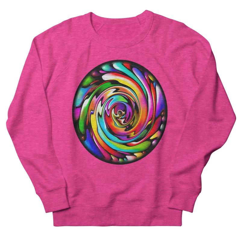 Rainbow Portal Women's Sweatshirt by Allison Low Art