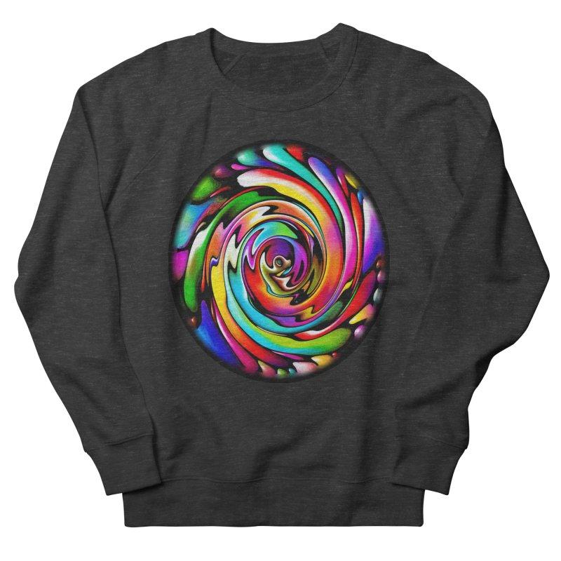 Rainbow Portal Men's Sweatshirt by Allison Low Art