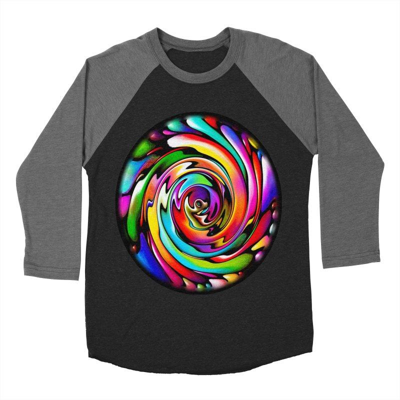 Rainbow Portal Women's Baseball Triblend T-Shirt by Allison Low Art