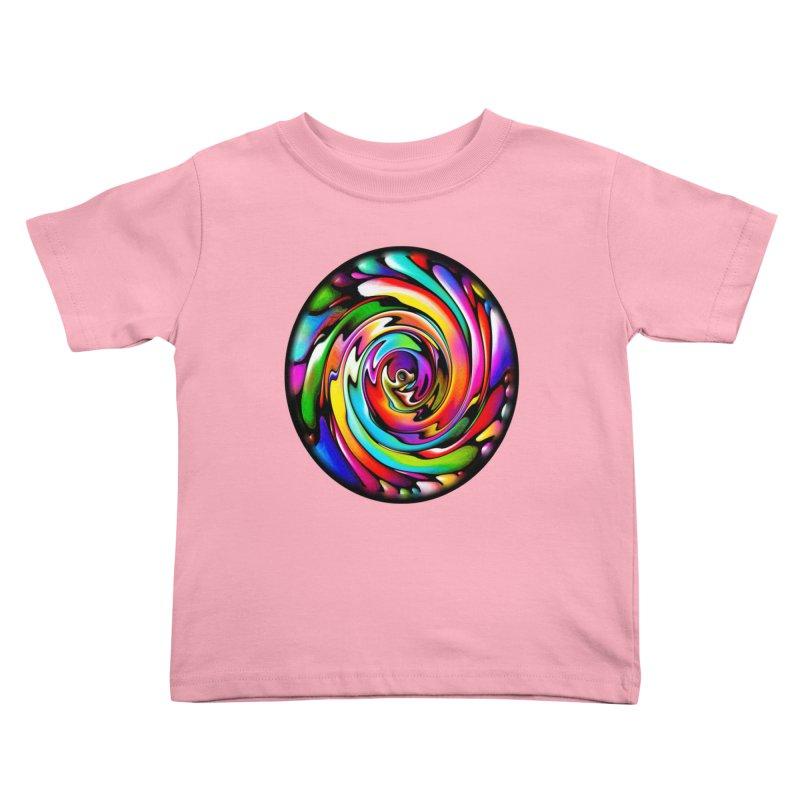 Rainbow Portal Kids Toddler T-Shirt by Allison Low Art