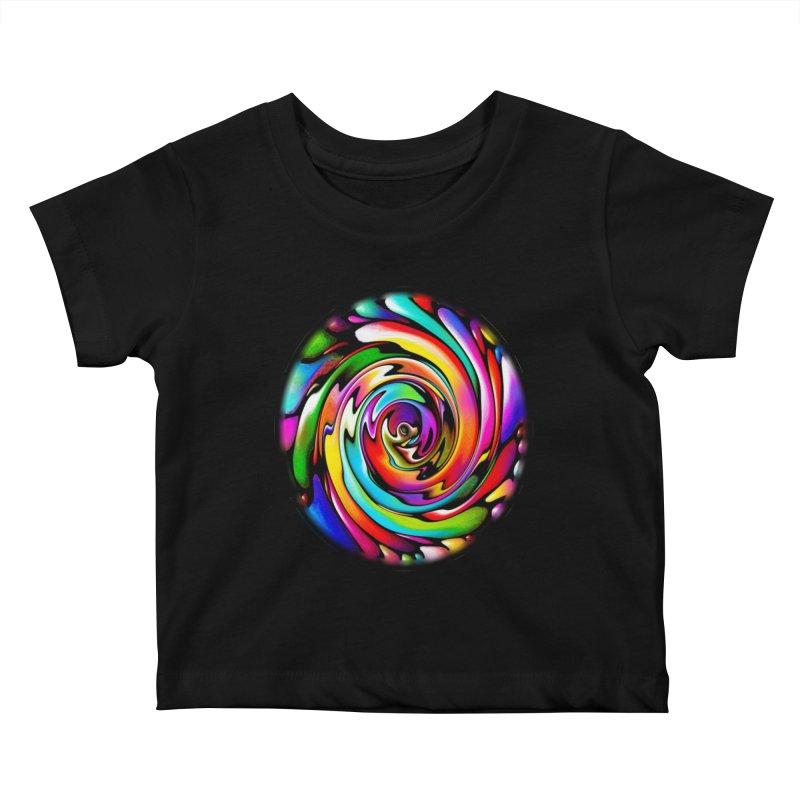 Rainbow Portal Kids Baby T-Shirt by Allison Low Art