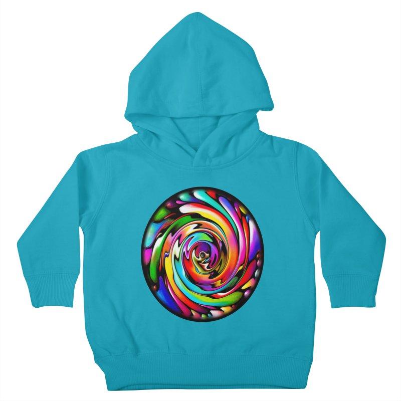 Rainbow Portal Kids Toddler Pullover Hoody by Allison Low Art
