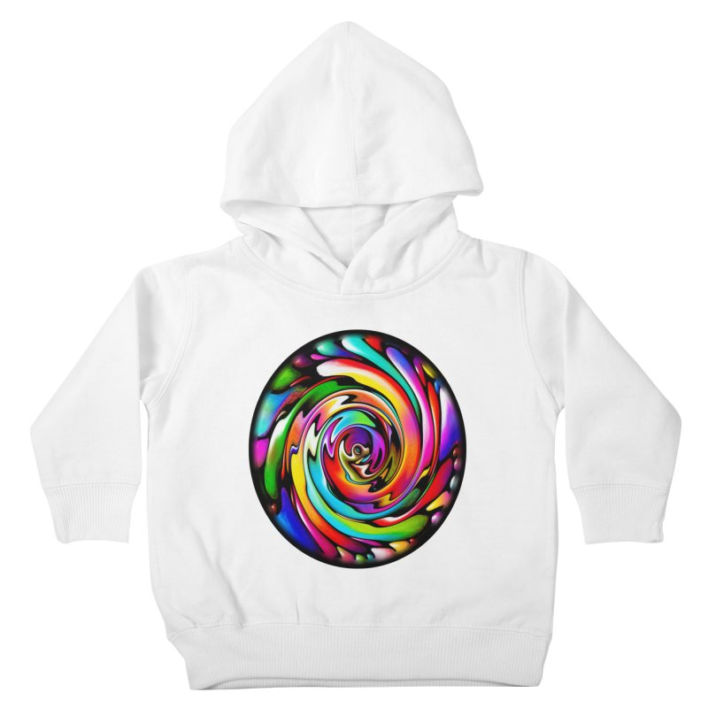 Rainbow Portal Kids Toddler Pullover Hoody by Allison Low Art