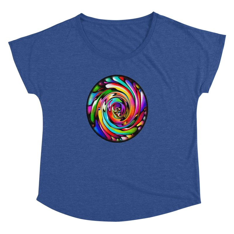 Rainbow Portal Women's Dolman by Allison Low Art