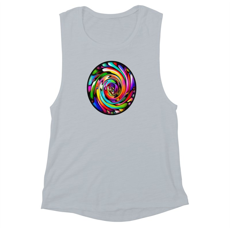 Rainbow Portal Women's Muscle Tank by Allison Low Art