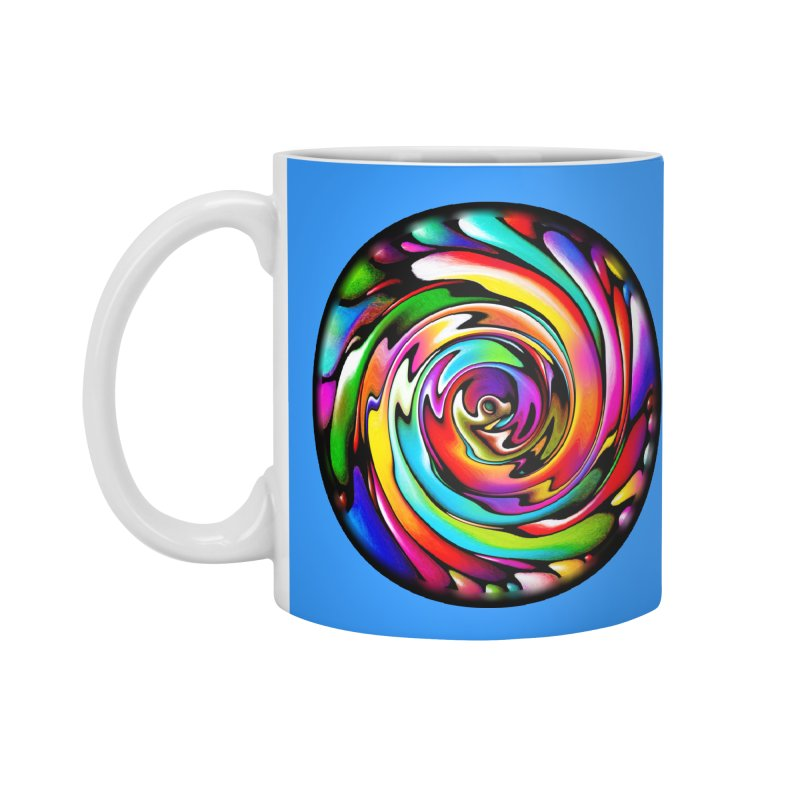 Rainbow Portal Accessories Mug by Allison Low Art