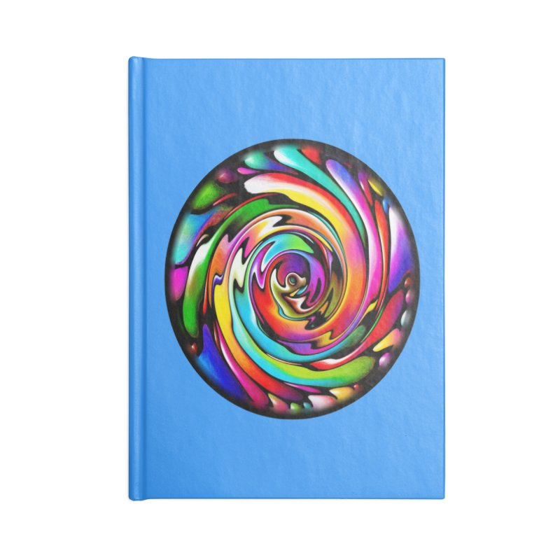 Rainbow Portal Accessories Notebook by Allison Low Art