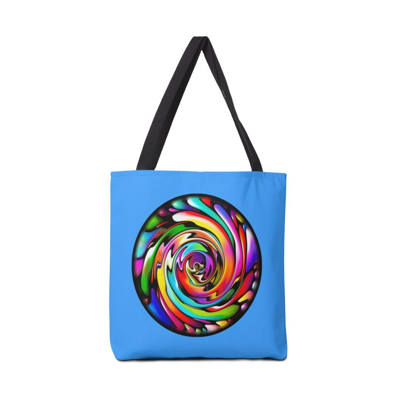 Rainbow Portal Accessories Bag by Allison Low Art