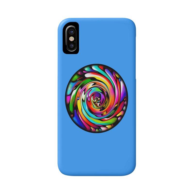 Rainbow Portal Accessories Phone Case by Allison Low Art